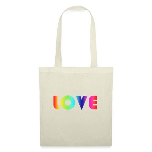De Liefde van de regenboog - Tas van stof
