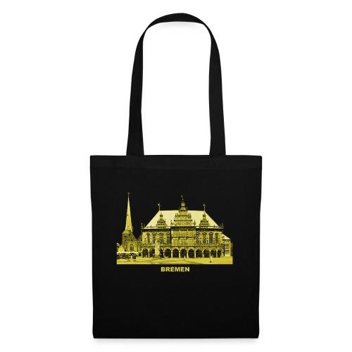 Bremen Rathaus Roland Hansestadt Deutschland - Stoffbeutel