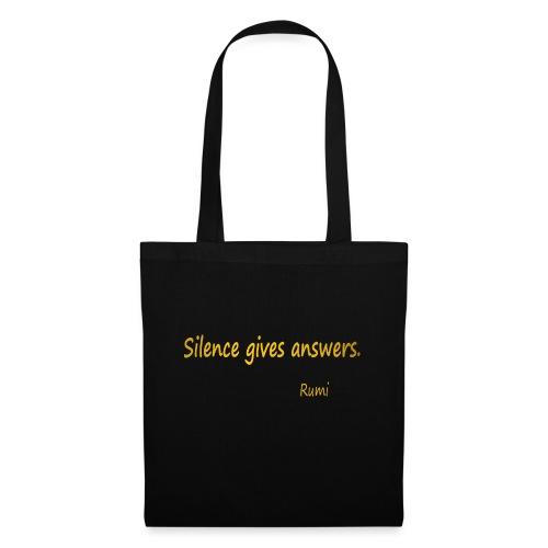 Silence - Tote Bag