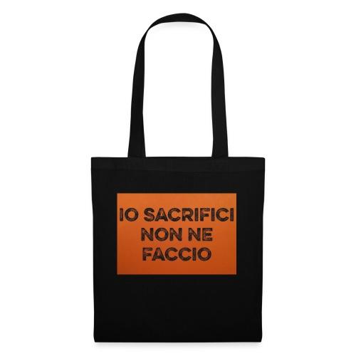 Canotta IoSacrificiNonNeFaccio 2016 - Borsa di stoffa