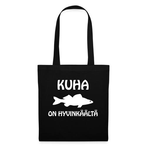 KUHA ON HYVINKÄÄLTÄ - Kangaskassi