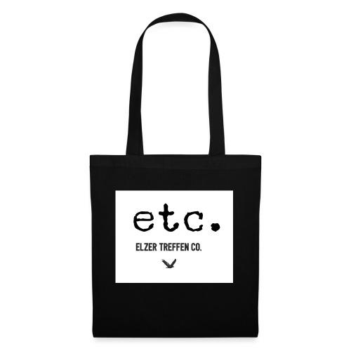 ELZER TREFFEN ETC black - Stoffbeutel