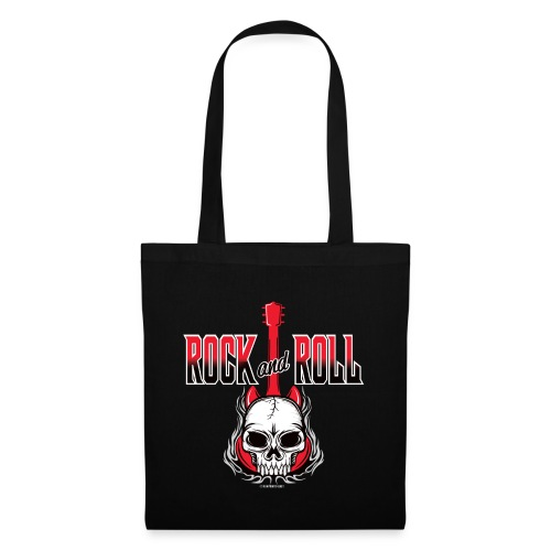 20-09 Rock and Roll Skull, Cool textiles and gifts - Kangaskassi