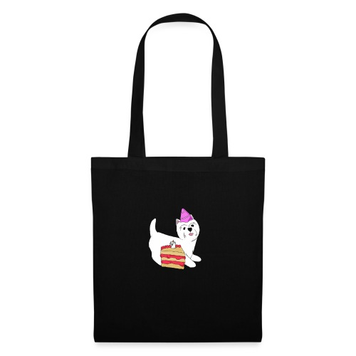Birthday Westie dog - Tote Bag
