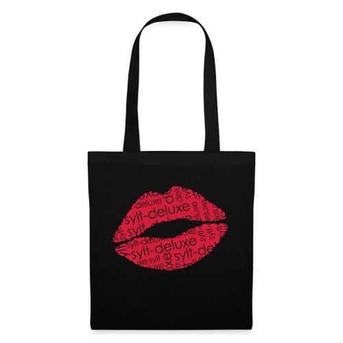 Sylt Deluxe Lippen Motiv - Stoffbeutel