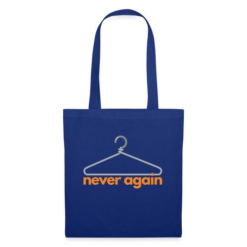 NeverAgain 1 - Stoffbeutel