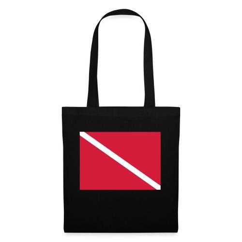 Diver Flag - Tote Bag