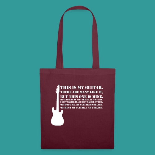 This is My Guitar - Tote Bag