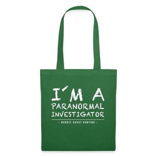 I´m a paranormal investigator - Tygväska