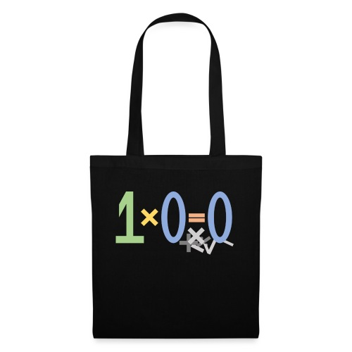 0 times something gives 0 - Tote Bag