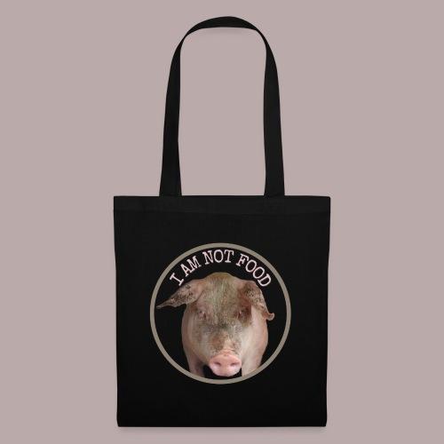 I AM NOT FOOD PIG - Tygväska