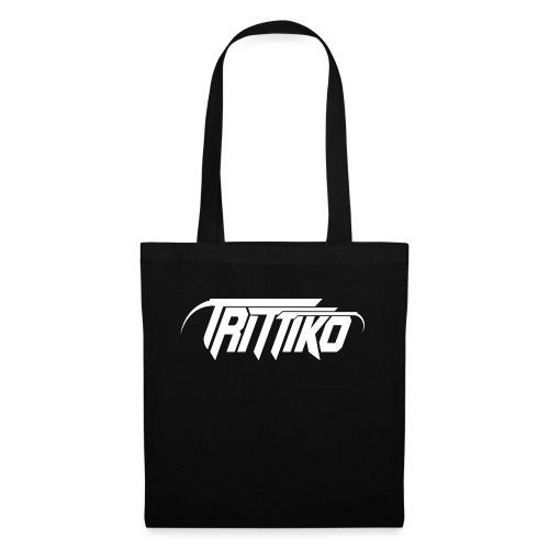 Trittiko Logo Weiss - Stoffbeutel