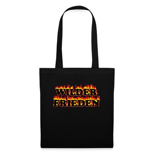 Wilder Frieden Feuer - Stoffbeutel