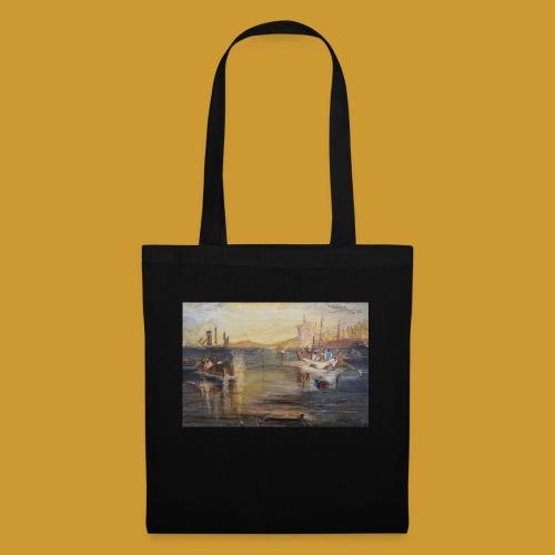 White Fishing - Mark Noble Art - Tote Bag