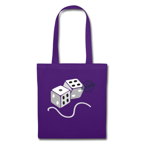 Dice - Symbols of Happiness - Tote Bag