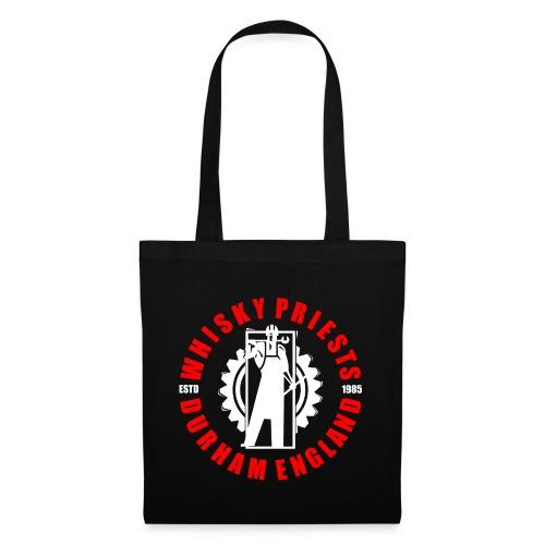 IRON MAN LOGO RED WHITE TRANS - Tote Bag