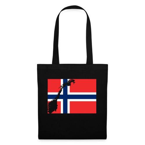 Norges Flagg - Stoffbeutel