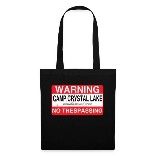 Camp Crystal Lake No Trespassing - Sac en tissu