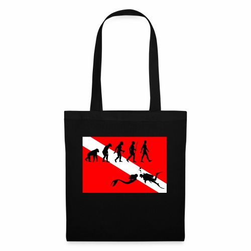 Scuba Evolution - Tote Bag