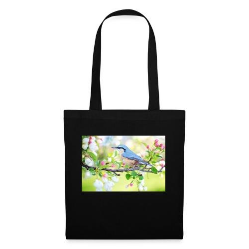 spring bird 2295431 1920 - Stoffbeutel
