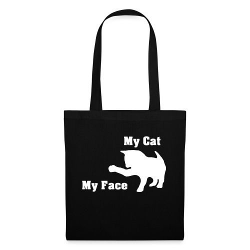 My cat my face my cat my face gift - Tote Bag
