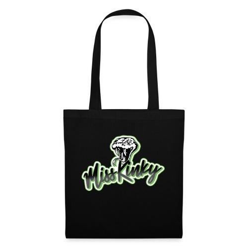 Logo Miss Kinky vert - Sac en tissu
