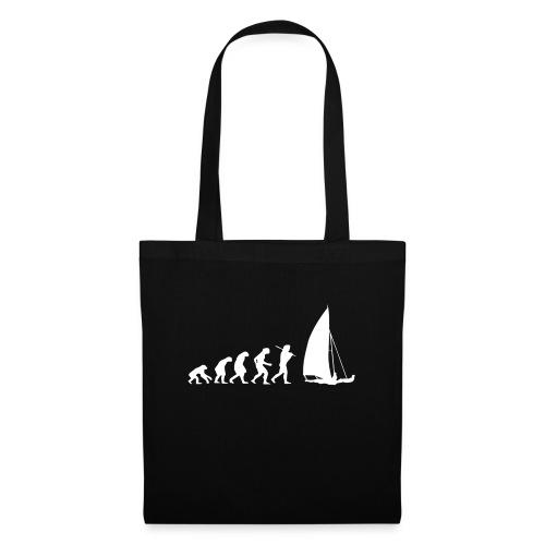 evolution sailboat - Borsa di stoffa