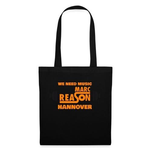 marc reason Logo 2020 1 orange - Stoffbeutel