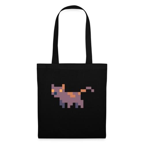 Pixel cat - Tygväska