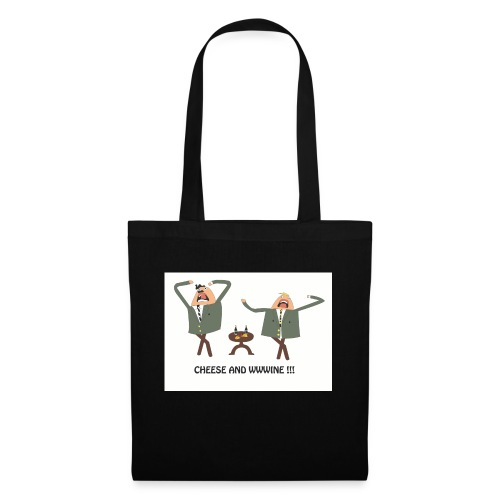 cheese and wine - Tote Bag