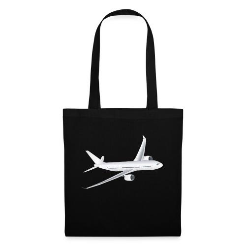 Flugzeug - Stoffbeutel