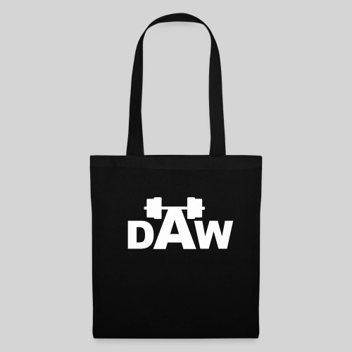 DAW white groot middle chest and back - Tote Bag
