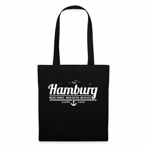 Hamburg - meine Heimat, mein Hafen, mein Kiez - Stoffbeutel