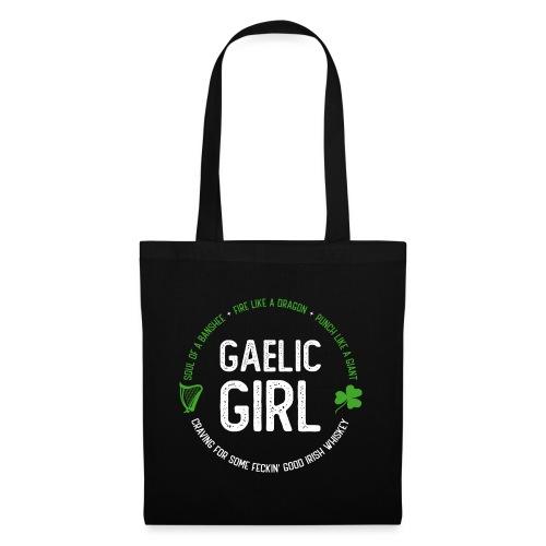 Gaelic Girl - Stoffbeutel