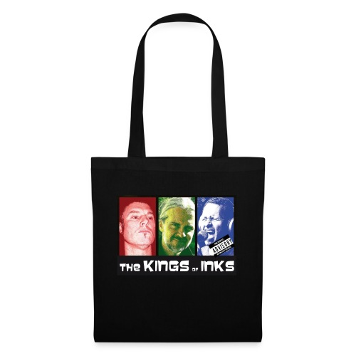 The Kings of Inks Explicit Music nur schwarz jpg - Stoffbeutel