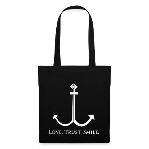 Love Trust Smile - Stoffbeutel