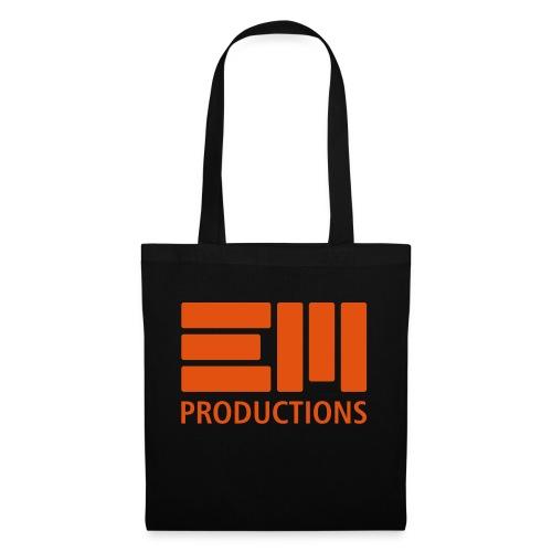 EM Productions Logo 2016 - Stoffbeutel