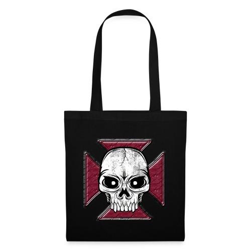 20-07 Iron Cross Skull, pääkallo tekstiilit ym. - Kangaskassi