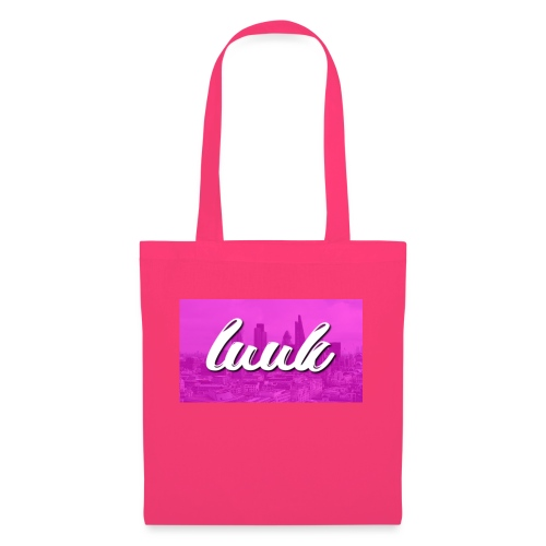 Box Logo Roze - Tas van stof