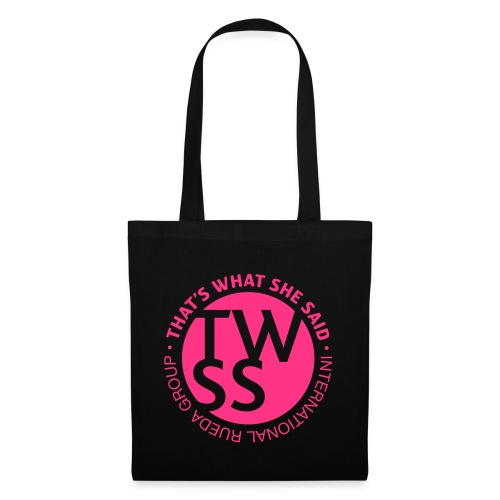 TWSS logo - That's What She Said - International - Stoffbeutel