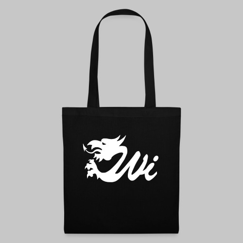 Wales Interactive Logo Dragon White - Tote Bag