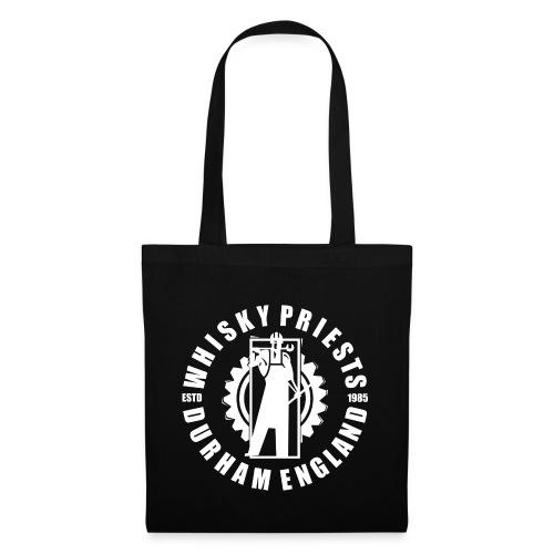 IRON MAN LOGO WHITE TRANS - Tote Bag