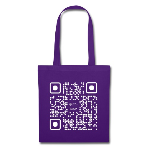 QR - Maidsafe.net White - Tote Bag