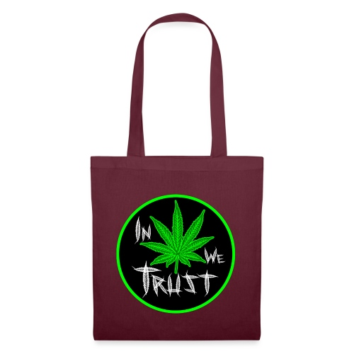 In weed we trust - Bolsa de tela