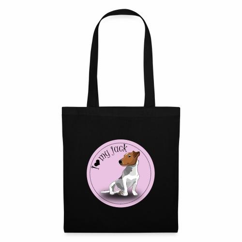 I love my jack - rose - Tote Bag