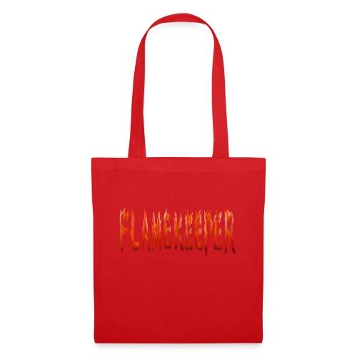 flamekeeper name logo - Tas van stof