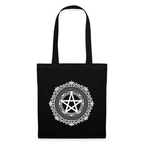 pentagramwhite gif - Tote Bag