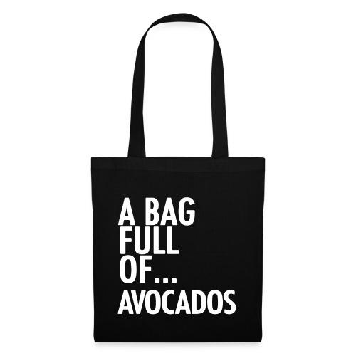 AVOCADOS white png - Tote Bag