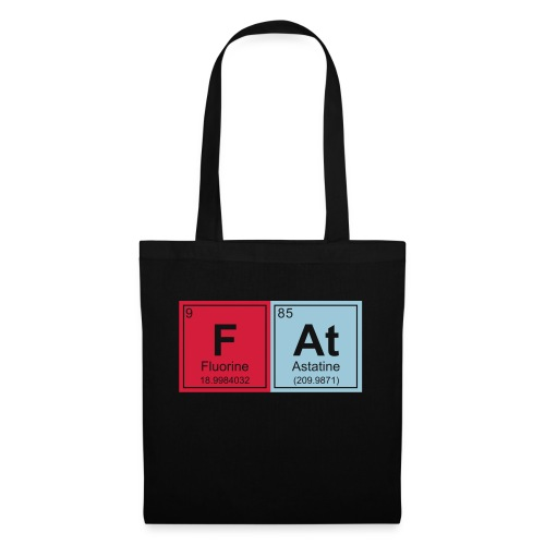 Geeky Fat Periodic Elements - Tote Bag