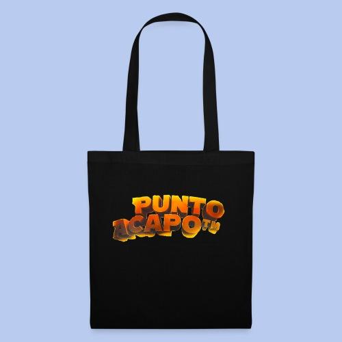 Maglietta PuntoACapo- Original Design- - Borsa di stoffa